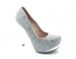 Stiletto Platform High Heel Court Shoes