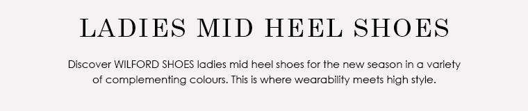Mid Heel Shoes