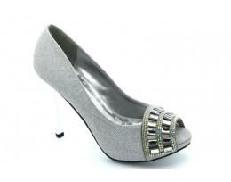 Evening Glitter High Heel Sandals